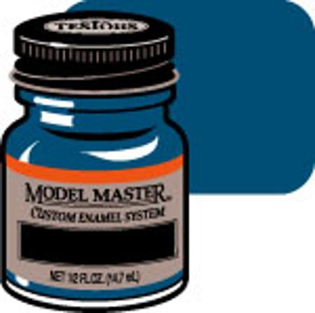 Testors Model Master Ford/GM Engine Blue 1/2 oz -- Hobby and Model Enamel Paint -- #2727