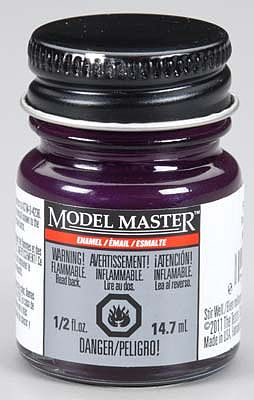 Testors Model Master Pearl Purple 1/2 oz -- Hobby and Model Enamel Paint -- #2774