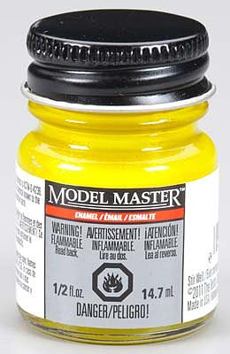 Testors Model Master Pearl Yellow Gloss 1/2 oz -- Hobby and Model Enamel Paint -- #2778