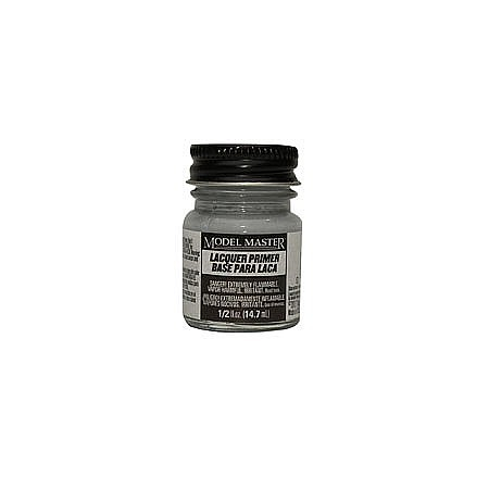 Testors Model Master Gray Sandable Lacquer Primer 1/2 oz -- Hobby and Model Lacquer Paint -- #2781