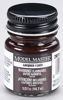 Testors Model Master Dark Brown Lacquer 1/2 oz Hobby and Model Lacquer Paint #28018