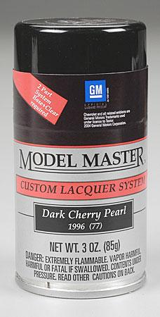 Testors Model Master Spray Dark Cherry Pearl 3 oz -- Hobby and Model Lacquer Paint -- #28113