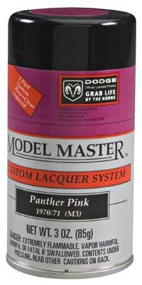 Testors Model Master Spray Panther Pink 3 oz -- Hobby and Model Lacquer Paint -- #28124