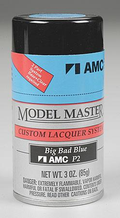 Testors Model Master Spray Big Bad Blue 3 oz -- Hobby and Model Lacquer Paint -- #28127