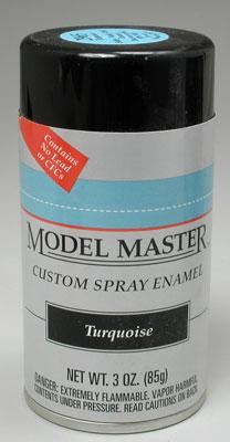 Testors Model Master Spray Turquoise 3 oz -- Hobby and Model Enamel Paint -- #2965