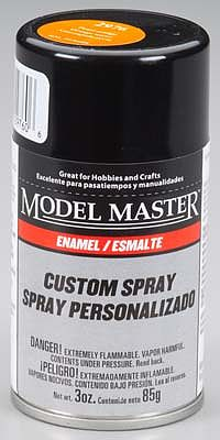 Testors Model Master Spray Pearl Orange Gloss 3 oz -- Hobby and Model Enamel Paint -- #2976