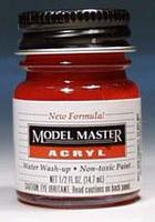 Testors Model Master Clear Red GP00260 1/2 oz Hobby and Model Acrylic Paint #4630