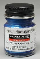 Testors Model Master True Blue Pearl GP00454 1/2 oz Hobby and Model Acrylic Paint #4657