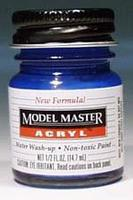 Testors (bulk of 6) Model Master Ford GM Engine Blue GP00473 1/2 oz Hobby and Model Acrylic Paint #4661