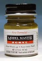 Testors Model Master Field Drab FS30118 1/2 oz Hobby and Model Acrylic Paint #4708