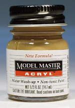 Testors Model Master Dark Tan FS30219 1/2 oz -- Hobby and Model Acrylic Paint -- #4709