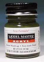 Testors Model Master Dark Green FS34079 1/2 oz -- Hobby and Model Acrylic Paint -- #4726