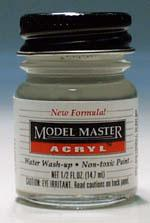 Testors Model Master Light Gray FS36495 1/2 oz -- Hobby and Model Acrylic Paint -- #4765