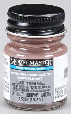 Testors Model Master Hull Red KMS 1/2 oz -- Hobby and Model Acrylic Paint -- #4868