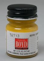 Testors (bulk of 6) 1/2oz. Bottle Boyd Enamel Paint Dark Yellow  (D)