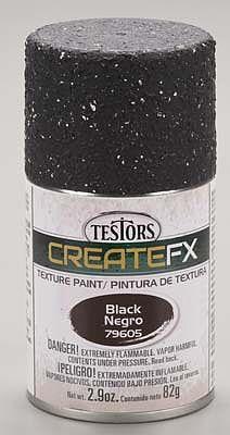 bulk of 3 FX Spray Enamel Texture Black 29 oz Hobby and Model