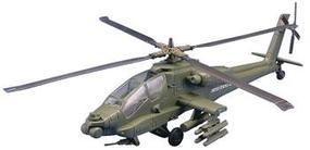 Testors AH64 Apache Helicopter Snap Tite Plastic Model Aircraft Kit 1/32 Scale #880001n