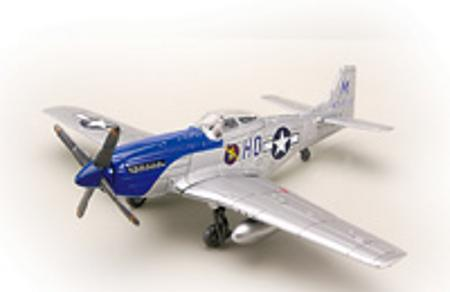 Testors P-51 Mustang -- Snap Tite Plastic Model Aircraft Kit -- 1/48 Scale -- #890001