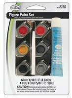 Testors Figure Paint Set Hobby and Model Paint Set #9102
