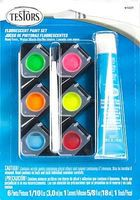 Testors Acrylic Fluorescent Paint Pod Set Hobby and Model Paint Set #9103t