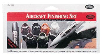 Testors Aircraft Finishing Set -- Hobby and Model Paint Set -- #9121