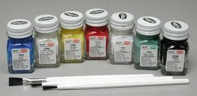 Testors Acrylic Primary Craft Set Hobby and Model Paint Set #9155