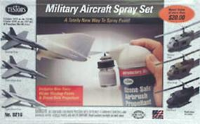 Testors Military Aircraft Spray Set Hobby and Model Paint Set #9216
