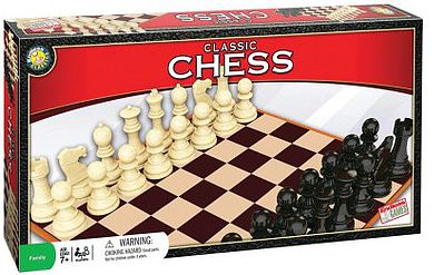 Traditional Games Classic Chess Set Game -- Activity Skill Game -- #6010