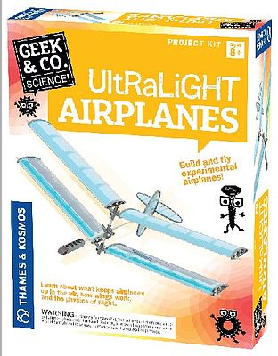 Thames and Kosmos Geek & Co Science Ultralight Airplane Kit -- Educational Science Kit -- #550014