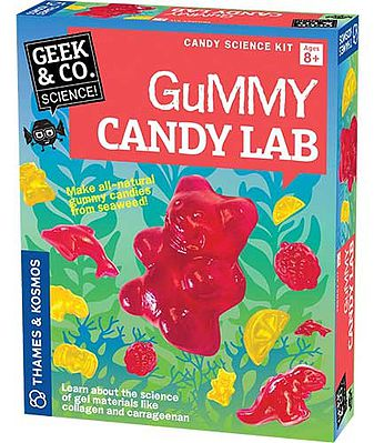 Thames and Kosmos Geek & Co Science Gummy Candy Lab Kit -- Educational Science Kit -- #550024