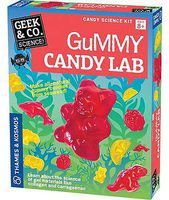ThamesKosmos Geek & Co Science Gummy Candy Lab Kit Educational Science Kit #550024