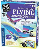 ThamesKosmos Geek & Co Science Build Your Own Flying Ornithopters (2) Kit Educational Science Kit #550025