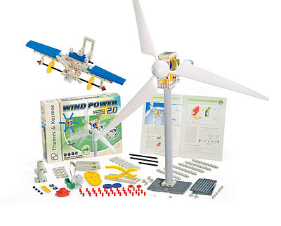 Thames and Kosmos Wind Power 2.0 Science Construction Kit -- Educational Science Kit -- #555002
