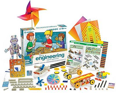 Thames and Kosmos Little Labs Intro to Engineering Beginner Experiment Kit -- Science Experiment Kit -- #602086