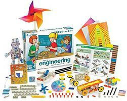 ThamesKosmos Little Labs Intro to Engineering Beginner Experiment Kit Science Experiment Kit #602086