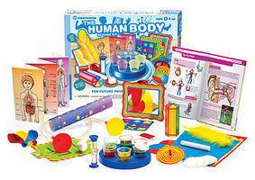 ThamesKosmos Little Labs Human Body Beginner Experiment Kit Science Experiment Kit #602093