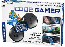 ThamesKosmos Code Gamer Learn to Make Code Experiment Kit