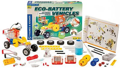 Thames and Kosmos Eco-Battery Vehicles Experiment Kit -- Science Experiment Kit -- #620615