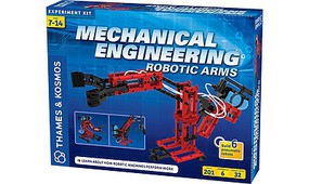 ThamesKosmos Mechanical Engineering Robotic Arms Experiment Kit