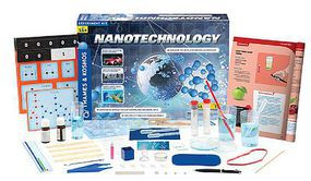 ThamesKosmos Nanotechnology Particles & Material Experiment Kit Science Experiment Kit #631727
