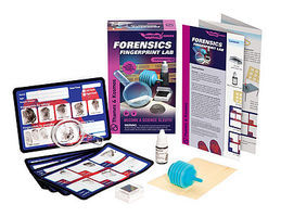 ThamesKosmos Forensics Fingerprint Lab Experiment Kit Science Experiment Kit #658410