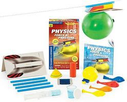 ThamesKosmos Physics Force & Pressure Experiment Kit Science Experiment Kit #659271
