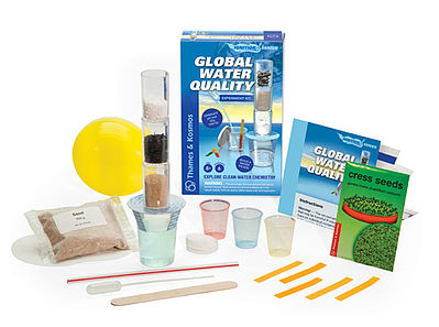 Thames and Kosmos Global Water Quality Experiment Kit -- Science Experiment Kit -- #659288