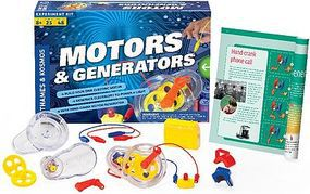 ThamesKosmos Motors & Generators Experiment Kit Science Experiment Kit #665036