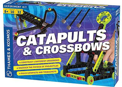 Thames and Kosmos Catapults & Crossbows Experiment Activity Kit -- Science Experiment Kit -- #665107