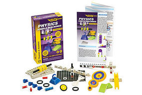 ThamesKosmos Physics Simple Machines Experiment Kit Science Experiment Kit #700001