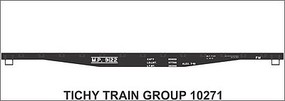 Tichy-Train HO MP 41 Steel Flatcar Decal