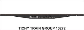 Tichy-Train HO MP 45 Steel Flatcar Decal
