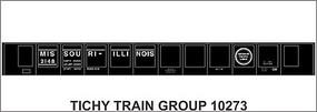 Tichy-Train HO MP 45 Steel Gondola Decal