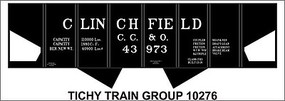 Tichy-Train N Clinchfield USRA Hop Decal